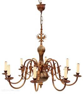 flemish brass chandelier antiques atlas flemish 8 l brass bronze chandelier light