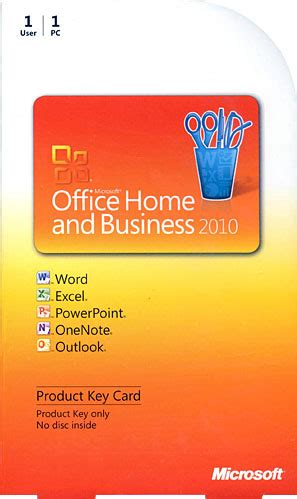 microsoft office home business 2010 edition pkc licensed