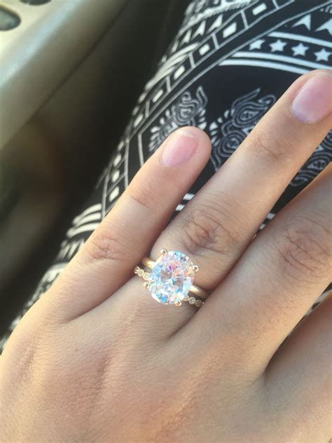 best 20 oval solitaire engagement ring ideas on