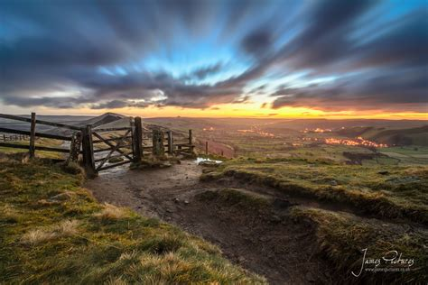 Sunrise On Mam Tor In The Peak District James Pictures Landscape Photographers