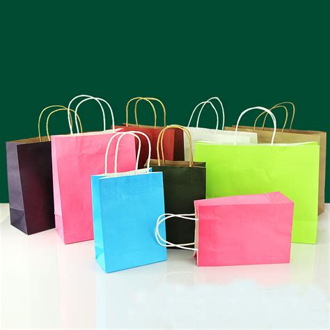 colored paper bags buy wholesale colored paper gift bags from china
