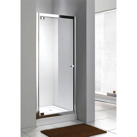 pivot door shower enclosure bathroom city pivot shower door side panel shower