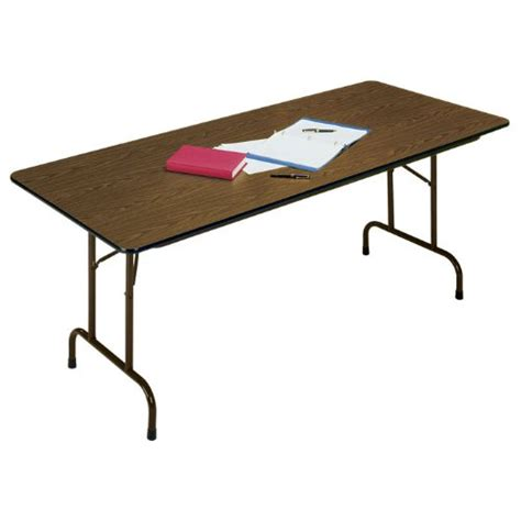 24 x 96 folding table melamine standard fixed height folding table 24 in x 96