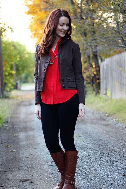 outfit   week wearing black  brown