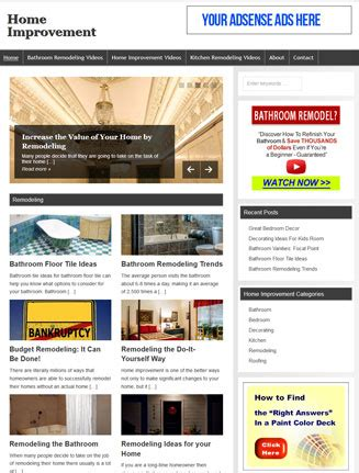 home improvement websites home improvement plr website