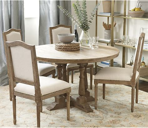 Ballard Designs Dining Table Ballard Designs Cora Pedestal Dining Table Contemporary Dining Tables