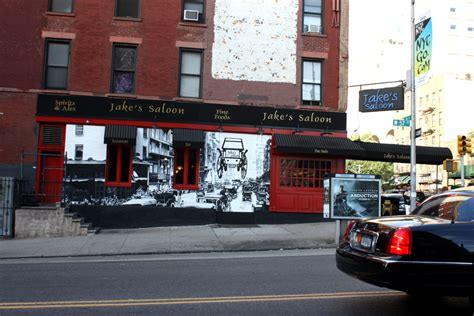 Detox On 57th And 10th Avenue Ny Ny by Manhattan Mural At Jake S Saloon West 57th And