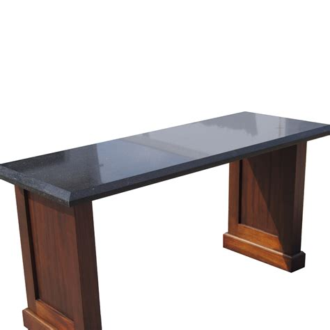granite sofa table 60 quot vintage granite console table ebay