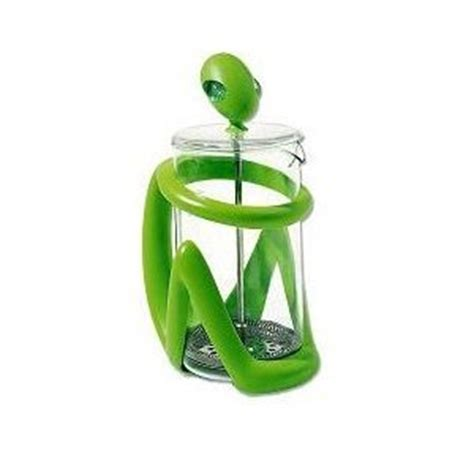 Coffee Consumers   Alessi Inka Press Filter Coffee Maker or Tea Infuser in Green ? 8 Cups
