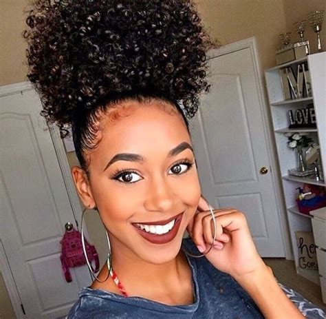 ponytail styles for natural hair best 25 natural hair ponytail ideas on pinterest