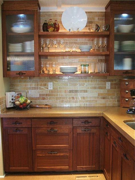 what color subway tile with oak cabinets 10 kitchens that aren t white subway tile backsplash