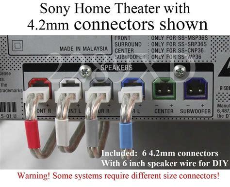 mm speaker cablewire plugconnectors