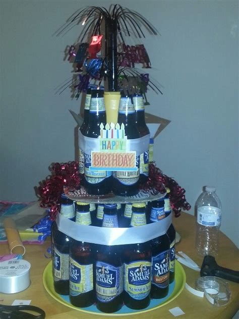 unique beer bottle cake ideas  pinterest beer cake gift beer cakes  mexican cake beer