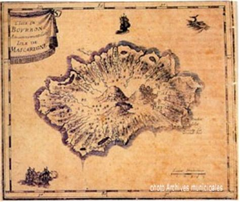 Bourbon Island 1730 history the past reunion island