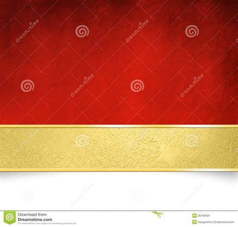 Red Background With Golden Banner Christmas Template Stock Illustration Image 35196424 Backdrop Banner Template
