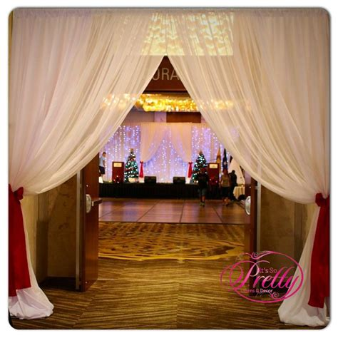 room draping full room draping it s so pretty linens and decor
