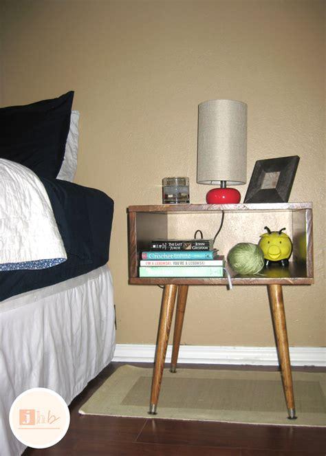 diy decorations modern diy mid century style nightstand s home