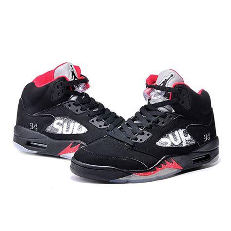 jordans womens basketball shoes air 5 sup basketball shoes black original