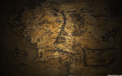 lord of the rings middle earth map middle earth map wallpaper high definition wallpapers