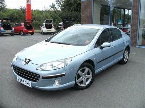 used peugeot 407 used peugeot 407 2009 petrol 2 0 se 4dr saloon blue manual
