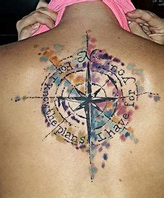 christian watercolor tattoo 25 best ideas about watercolor compass tattoo on