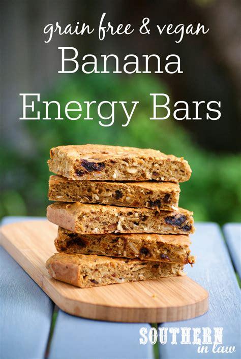 healthy energy bars recipe southern in recipe banana energy bars vegan grain