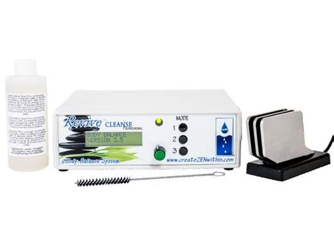 Balance Foot Detox System by Revive Cleanse Pro Ionic Detox Foot Bath Balance