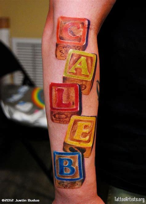 alphabet blocks tattoo block letters tattoo google search tattoos pinterest