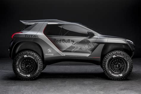 peugeot dakar peugeot unveils the 2008 dkr dakar buggy video