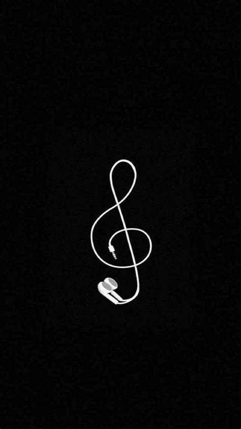 wallpaper black cute imagem de music wallpaper and black a4 pinterest