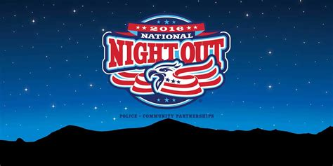 2016 texas national night out texarkana neighborhoods to celebrate 33rd annual national