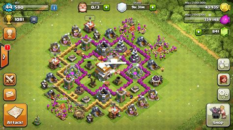 layout editor coc th 6 top 5 th 6 defense base designs for 2015