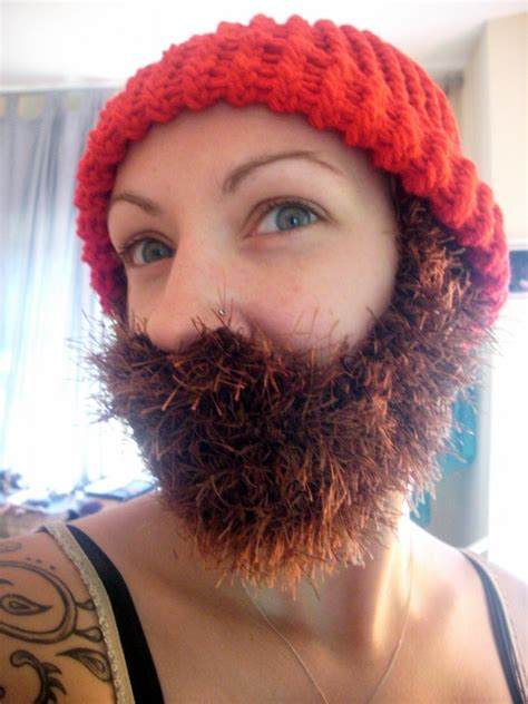 knitted beard knitted beards will keep you cozy the geeky hostess