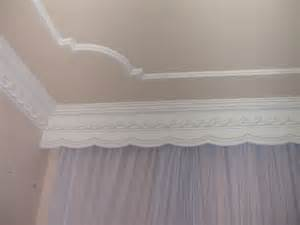 used as ceiling or plafond gypsum can be used starting from simple
