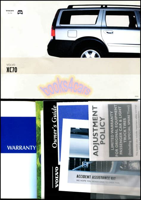 car manuals free online 2003 volvo xc70 on board diagnostic system 2003 volvo xc70 owners manual book
