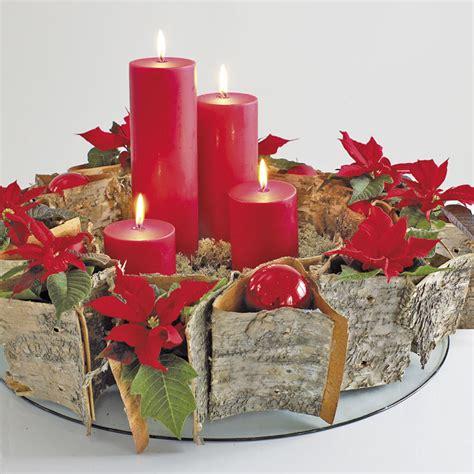 candele d avvento corona dell avvento poinsettie connubio perfetto