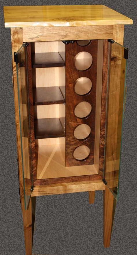 custom made butternut wine cabinet wine racks