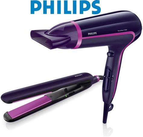 Philips Hair Dryer Straightener Set philips philips hairdryer straightener gift set