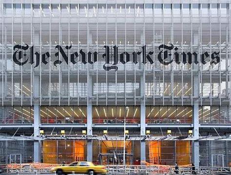 sede new york times il new york times boccia quot skyline quot la nuova sede di piano