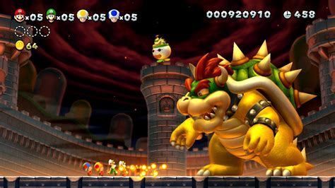 Bros Chnel 2 new mario bros u bowser fireball takedown in the