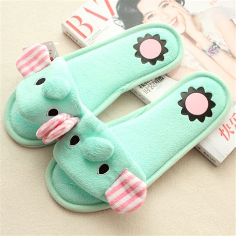 cute house shoes popular elephant slippers buy cheap elephant slippers lots from china elephant