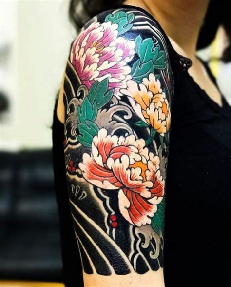 history tattoo sleeve 65 best japanese tattoos with meaning and history 2018
