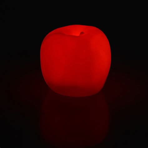 Changed 7 Colors Apple L 7 color changing romatic apple led light l wedding decor gift ebay