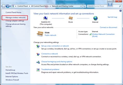 how to change saved wifi password in windows 7 user