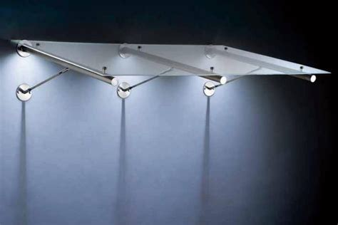 beleuchtung vordach vordach mit led beleuchtung