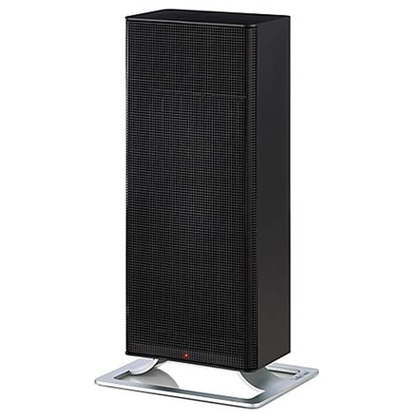 space heater bed bath and beyond stadler form anna ceramic heater in black bed bath beyond
