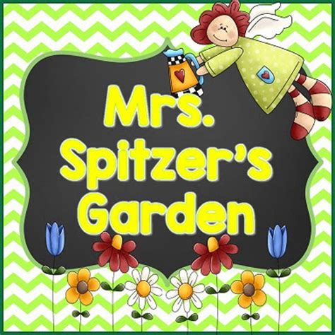 Mrs Spitzer S Garden by Back To School With Mrs Spitzer S Garden And A Freebie