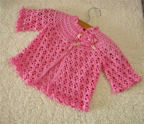 Handmade Crochet Baby Clothes - high quality handmade pink crochet baby clothes