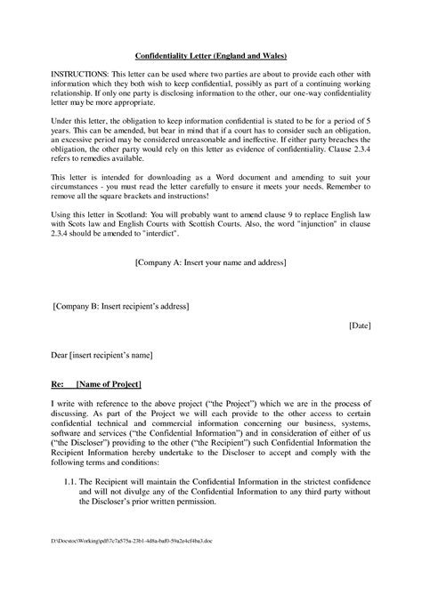 Letter Of Agreement In 25 professional agreement format exles between two