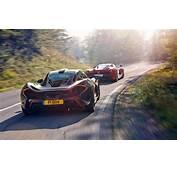 Download Wallpapers McLaren P1 Ferrari LaFerrari